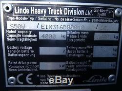 Linde S50 Used Diesel Sideloader Forklift Truck. (#2549)