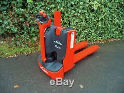 Linde T16L order picking electric power pallet truck/forklift load vehicles