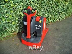 Linde T20 electric power pallet truck / forklift-With Only 2 Hours