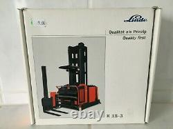 Linde VNA Man up K15-3 forklift truck fork lift Scale 1/25 Boxed