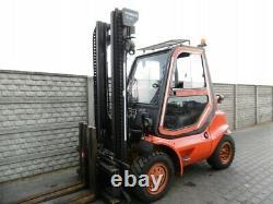 Linde diesel forklift truck LINDE Model H 35 DG-04