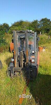 Linde forklift truck diesel