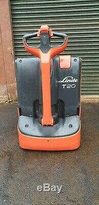 Linde t20 1152 electric pallet truck euro spec 2000kg capacity 2012 year