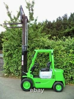 Mitsubishi 2.5 ton Diesel Counterbalance Forklift Truck/ Hyster Linde Komatsu