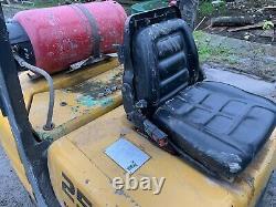 Mitsubishi Fgr25 Gas Forklift Stacker Truck Materials linde Handler