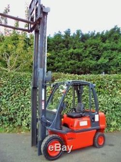 Nissan Diesel Counterbalance forklift truck-Not Gas, Linde Toyota Caterpillar