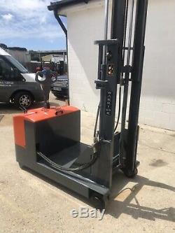 Pedestrian Forklift Truck Warrior Not Toyota Nissan Mitsubishi Linde