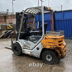 STILL RC40-25 2.5 Ton Diesel Fork Lift Truck 2013 Triple Mast Nissan Linde