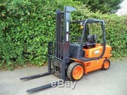 Samsung 3ton Diesel Forklift Truck / Like Linde Toyota Hyster Caterpillar