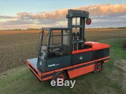 Side Loader Forktruck Linde S30 Used Diesel Sideloader Forklift Truck