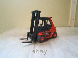 Siku Linde Industrial Forklift Truck Good Complete Condition 1/50