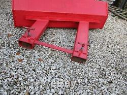 Sterlingplus / Linde Forklift Truck / Loader Snow Plough 1.5m Wide