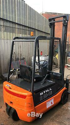 Still R20-16 3 Wheel Electric Forklift Truck Not Linde, Hyster, Toyota