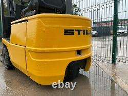 Still R50-12 1.2 Ton Battery Powered Forklift Stack Pallet Truck Linde Toyota
