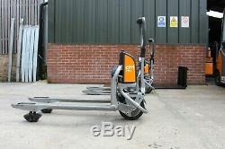 Still citi on electric pallet truck, forklift, linde citi, full electric stacker