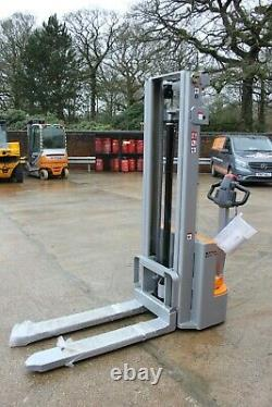 Still ecv10 electric forklift stacker pallet truck reachtruck, linde t20, l10
