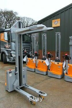 Still ecv10ic electric forklift stacker pallet truck reachtruck, linde t20, l10