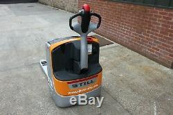Still exu16 electric forklift pallet truck linde t20, t16 bt lwe, jungheinrich