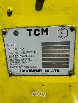 TCM FBL15 1.5T Electric Forklift Truck/ Linde, Toyota, Hyster, Mitsubishi, Clark