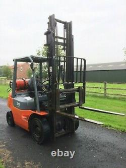 Toyota Forklift LPG 04 Gas 1800kg 4M Fork lift / Truck / Forktruck ss not linde