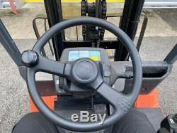 Toyota Forklift Truck 2012 Electric 3 tonne Not linde, Hyster, Jungheinrich
