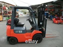 Toyota Gas Counterbalance Fork Lift Truck Toyota Linde Hyster Yale DW0242