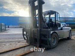 Used Diesel Forklift truck Linde H120/02-1200 12 Tonne £173.48