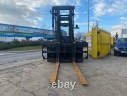 Used Diesel Forklift truck Linde H120/02-1200 12 Tonne at 1200 load centre