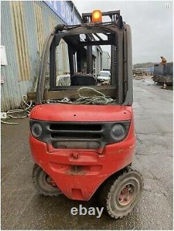 Used Diesel Forklift truck Linde H25D Duplex 4m lift 2500KG