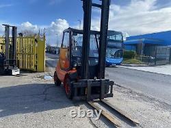 Used Diesel Forklift truck Linde H40D-03 4 Tonne 4.4m lift height