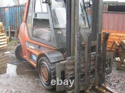 Used Diesel forklift truck Linde H50D Low hours 5 tonne