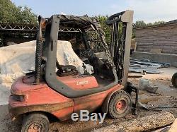 Used diesel forklift truck