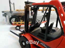 Vintage 1/16 RC Robbe Linde H50 Forklift Gabelstapler Truck Tamiya Carson Wedico