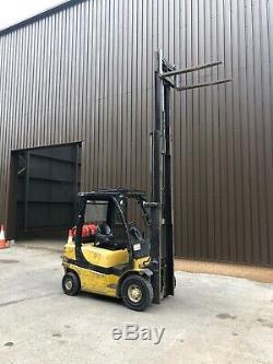 Yale Glp25vx Gas Counter Balance Forklift Truck Likr Linde Hyster Nissan