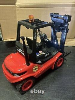 1/14 Carson Rc Linde H40d Forklift Rtr Idéal Pour La Scène Camion Tamiya