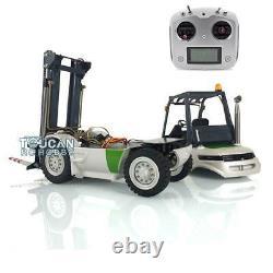 1/14 Esc Motor Radio Peint Lesu Rc Diy Modèle Linde Forklift Transfert De Camion De Voiture