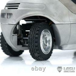 1/14 Lesu Rc Linde Forklift Transfer Truck Pump Motor Painted Model Sound Esc