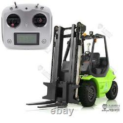 1/14 Lesu Rc Voiture Diy Peint Linde Forklift Truck Sound Transfer Esc Motor Radio