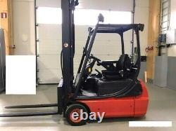 1.6t Linde 3 Wheel Forklift Truck E16c 03 Disponible Pour La Location Locale Ou HP