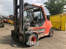 2001 Linde H80d-900-02, Chariot Élévateur Diesel D'occasion De 8t @ 900 LC