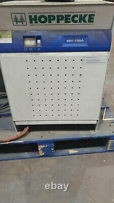 48v 3 Phase 150 Amp Ample Forklift Truck Battery Charger Hysteryale Linde
