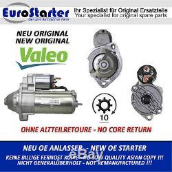 Anlasser Démarreur Neu Original Valeo D7r33 = Bosch 0001110066 Vw Audi Skoda 1.9tdi