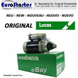 Anlasser Lucas Neu Original Lrs301 Pour Massey Ferguson
