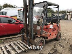 Camion De Chariot Élévateur Diesel Linde