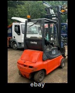 Camion De Chariot Élévateur Électrique Linde E20