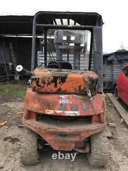 Camion De Chariot Élévateur Linde Diesel
