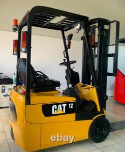 Cat Ep12krt Chariot Élévateur Électrique Ou À Partir De £ Par Semaine. Still Toyota Linde