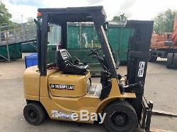 Caterpillar 3,5 Tonnes Diesel Chariot Élévateur Frontal / Linde Comme Toyota Hyster Komatsu