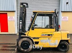 Caterpillar Dp45 Diesel Forklift Truck £6750 + Cuve À Vendre Mitsi S6 Moteur