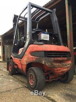 Chariot Diesel 351 Linde Model. Grand Cheval De Travail! Commerce Pas Cher En Camion. 3750 £